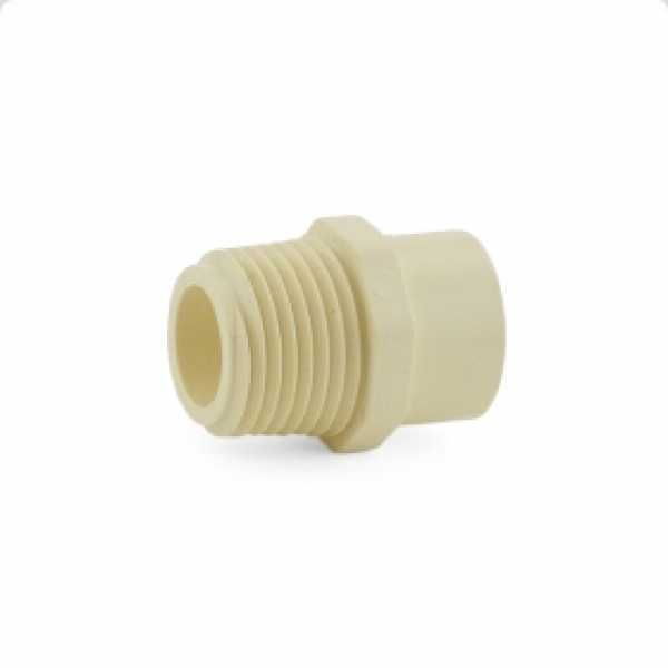"1/2"" CTS CPVC Male Adapter (Socket x MIP)"