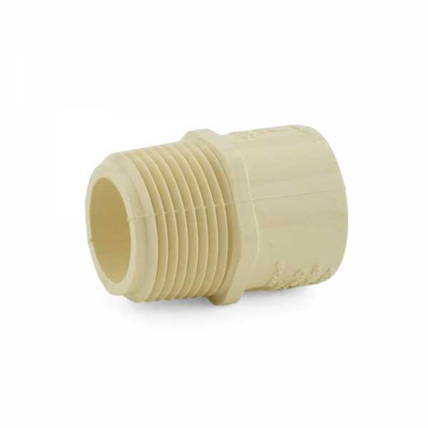 "3/4"" CTS CPVC Male Adapter (Socket x MIP)"