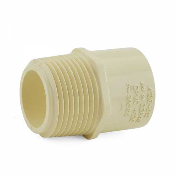 "1"" CTS CPVC Male Adapter (Socket x MIP)"