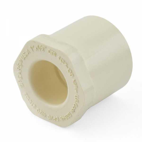 """1"""" x 1/2"""" CTS CPVC Bushing (Spigot x Socket)"""
