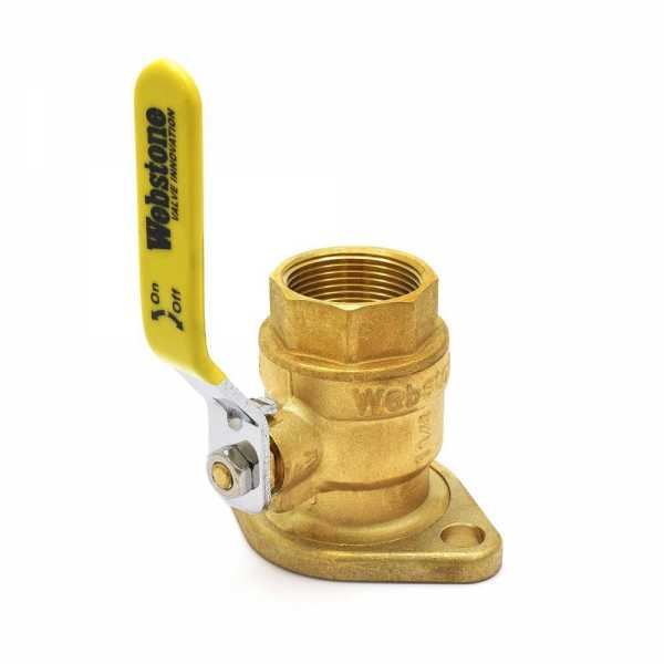 "1-1/4"" IPS Isolator Valve w/ Rotating Flange"