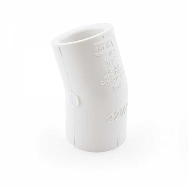 "1/2"" PVC (Sch. 40) 22.5° Elbow"