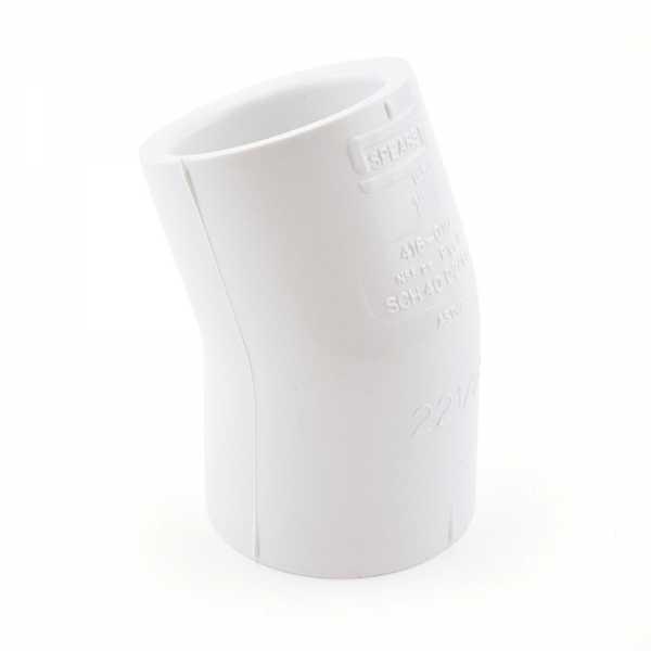"1"" PVC (Sch. 40) 22.5° Elbow"