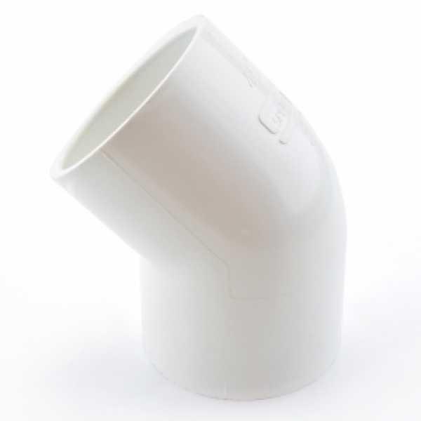 "2"" PVC (Sch. 40) 45° Elbow"