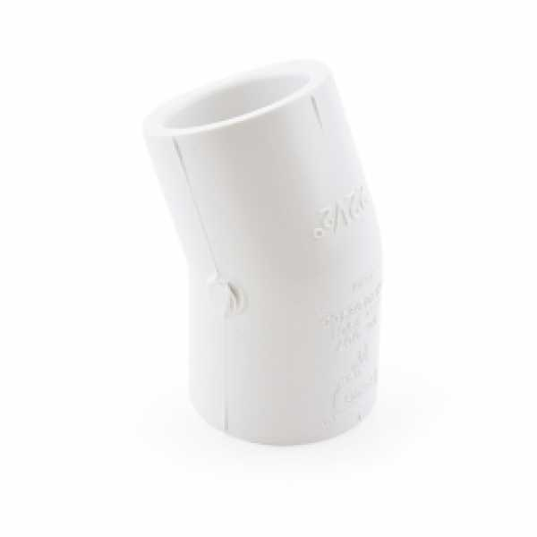 "3/4"" PVC (Sch. 40) 22.5° Elbow"