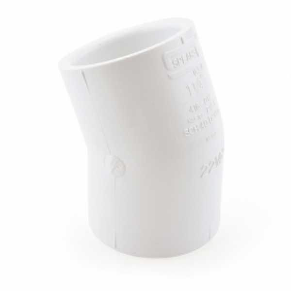 "1-1/4"" PVC (Sch. 40) 22.5° Elbow"