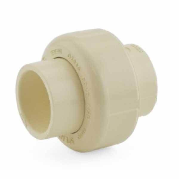 "3/4"" CTS CPVC Union w/ EPDM O-ring (Socket x Socket)"