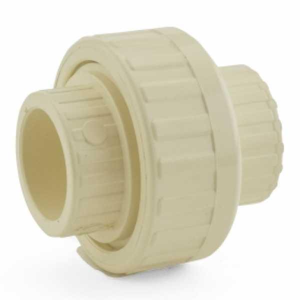 "1"" CTS CPVC Union w/ EPDM O-ring (Socket x Socket)"