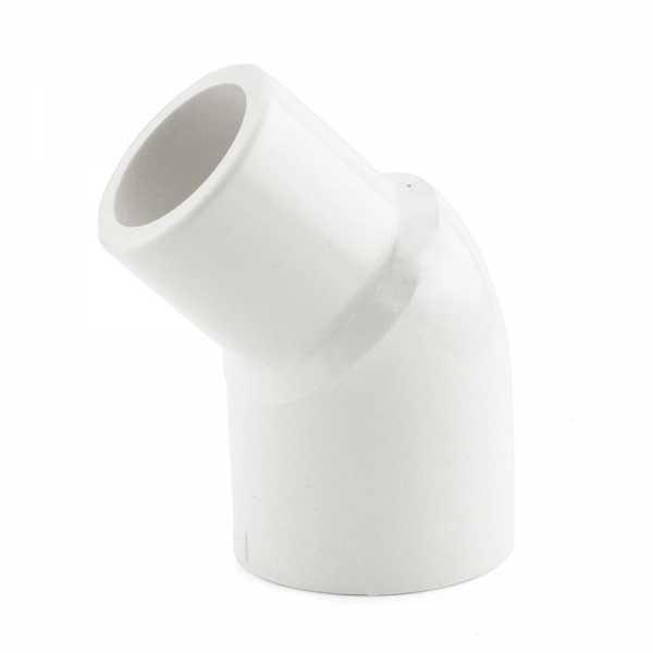 "1-1/4"" PVC (Sch. 40) 45° Street Elbow"