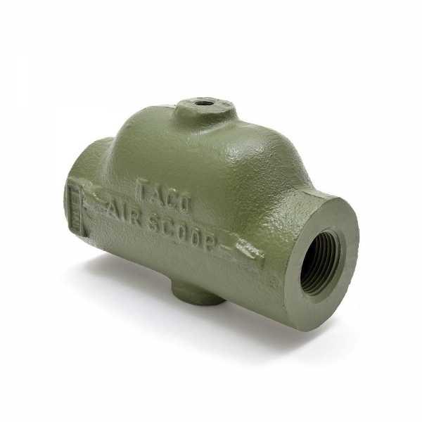 """Taco (432-6) Cast Iron Air Scoop, 1-1/4"""" NPT"""