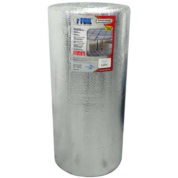 500 sqft Concrete Radiant Heat Insulation, 4 ft x 125ft