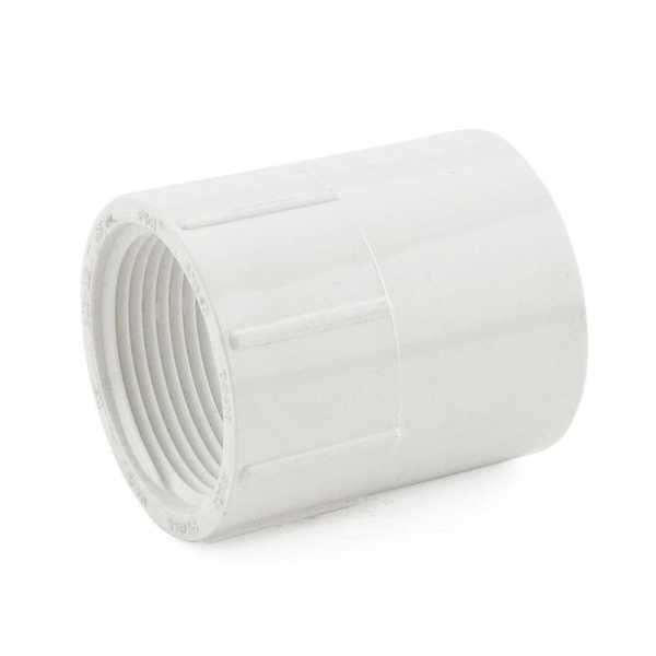 "1-1/4"" PVC (Sch. 40) Socket x FIP Adapter"