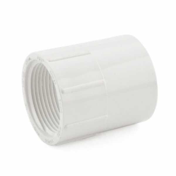 "1-1/4"" PVC (Sch. 40) Socket x FIP Adapter"