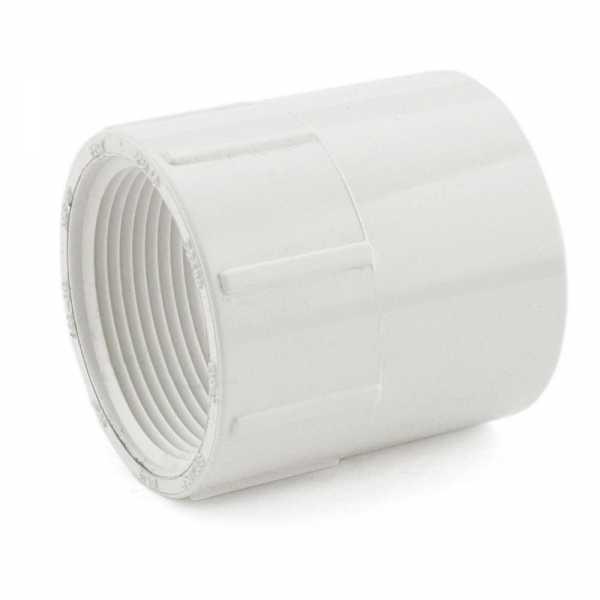 "1-1/2"" PVC (Sch. 40) Socket x FIP Adapter"