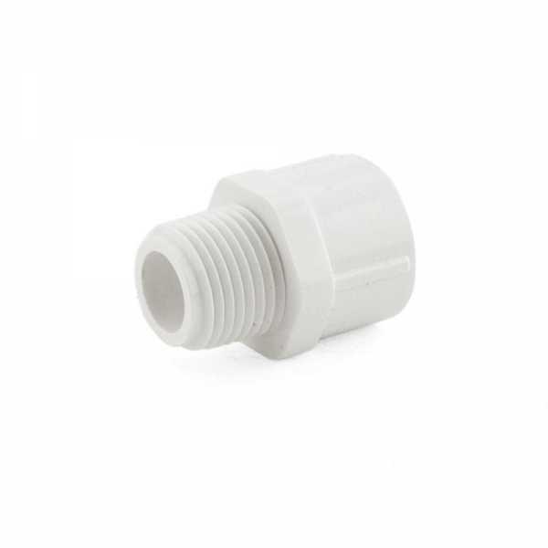"""1/2"""" PVC (Sch. 40) MIP x Socket Adapter"""