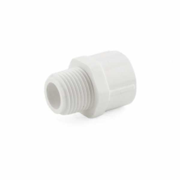 "1/2"" PVC (Sch. 40) MIP x Socket Adapter"