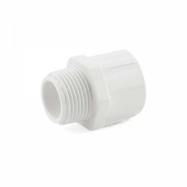 """3/4"""" PVC (Sch. 40) MIP x Socket Adapter"""