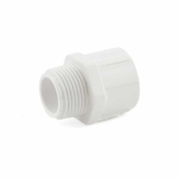 "3/4"" PVC (Sch. 40) MIP x Socket Adapter"