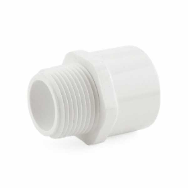 """1"""" PVC (Sch. 40) MIP x Socket Adapter"""