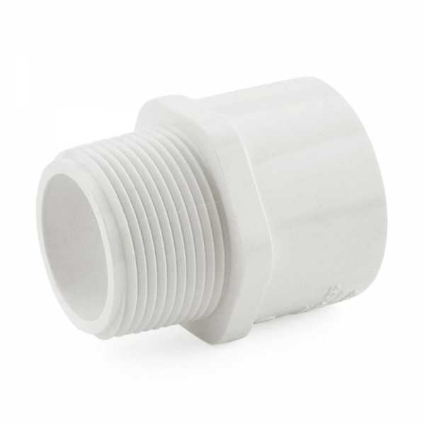 "1-1/4"" PVC (Sch. 40) MIP x Socket Adapter"