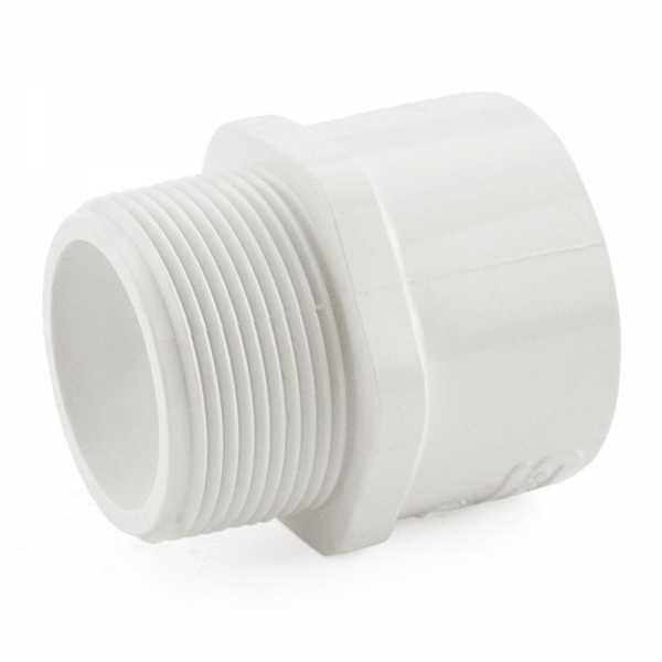 """1-1/2"""" PVC (Sch. 40) MIP x Socket Adapter"""