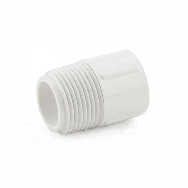 "3/4"" x 1/2"" PVC (Sch. 40) MIP x Socket Adapter"