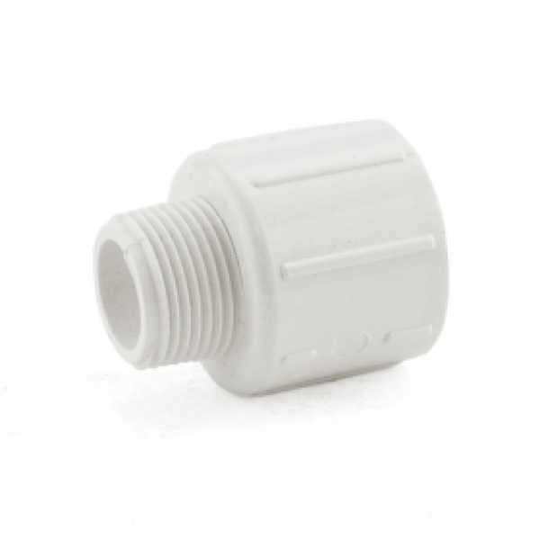 "3/4"" x 1"" PVC (Sch. 40) MIP x Socket Adapter"