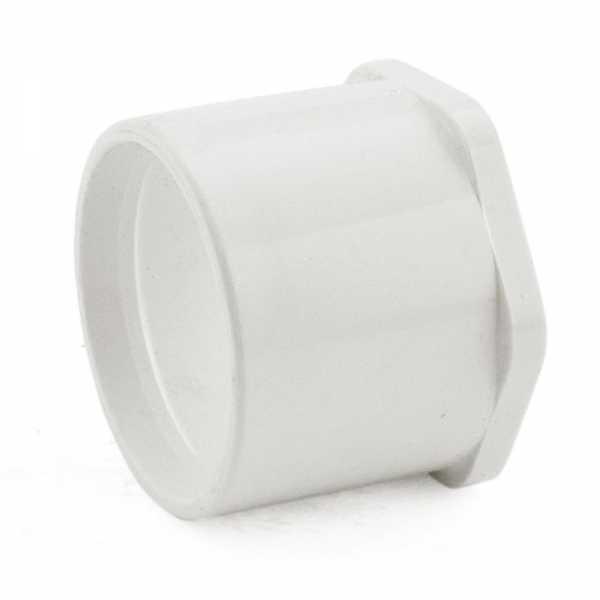 "1-1/2"" x 1-1/4"" PVC (Sch. 40) Spigot x Socket Bushing"
