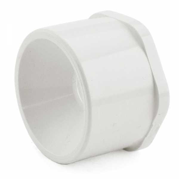 "2"" x 1/2"" PVC (Sch. 40) Spigot x Socket Bushing"