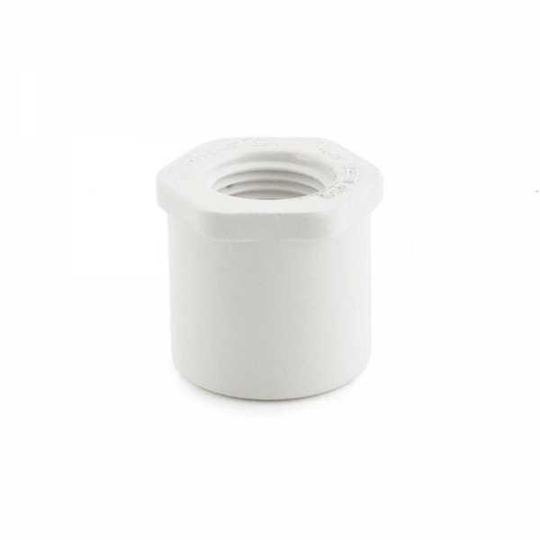 """1"""" x 1/2"""" PVC (Sch. 40) Spigot x FIP Bushing"""
