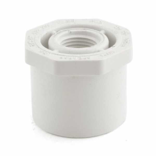 """1-1/2"""" x 1/2"""" PVC (Sch. 40) Spigot x FIP Bushing"""
