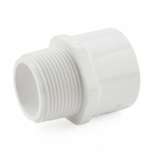 """1-1/4"""" PVC (Sch. 40) MIP x Socket Adapter"""