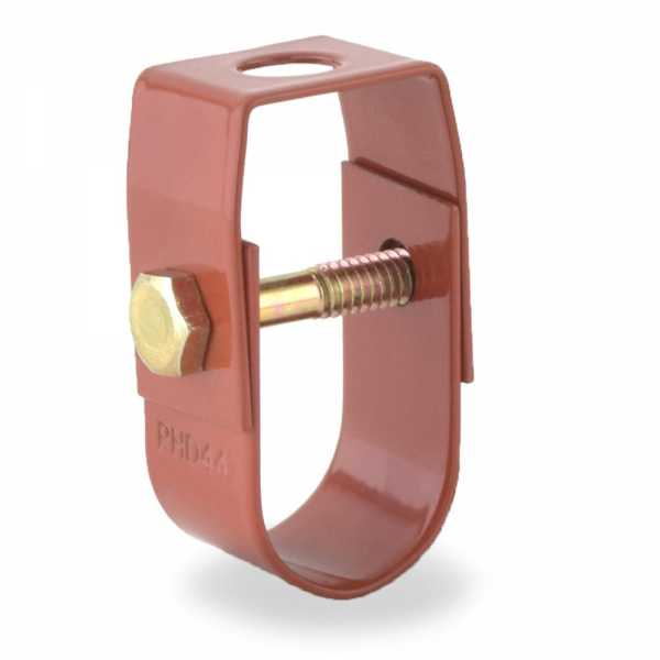 """3/4"""" Copper Epoxy Coated Clevis Hanger"""