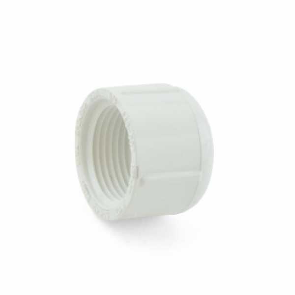 """3/4"""" PVC (Sch. 40) FIP Cap"""