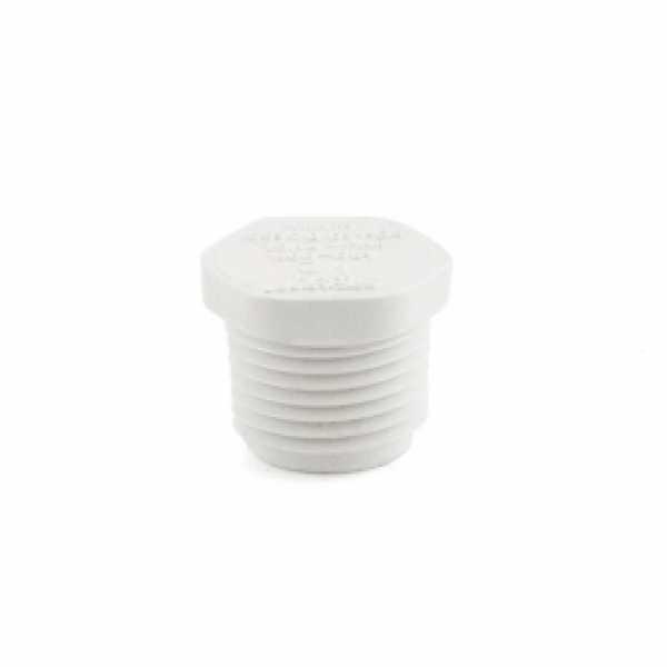 "1/2"" PVC (Sch. 40) Threaded Plug (MIP)"