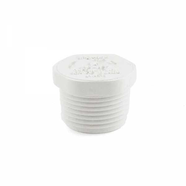 "3/4"" PVC (Sch. 40) Threaded Plug (MIP)"