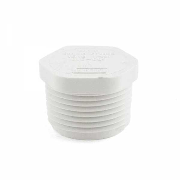"1"" PVC (Sch. 40) Threaded Plug (MIP)"