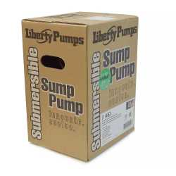 Automatic Sump Pump w/ Wide Angle Float Switch, 1/2HP, 10' cord, 115V
