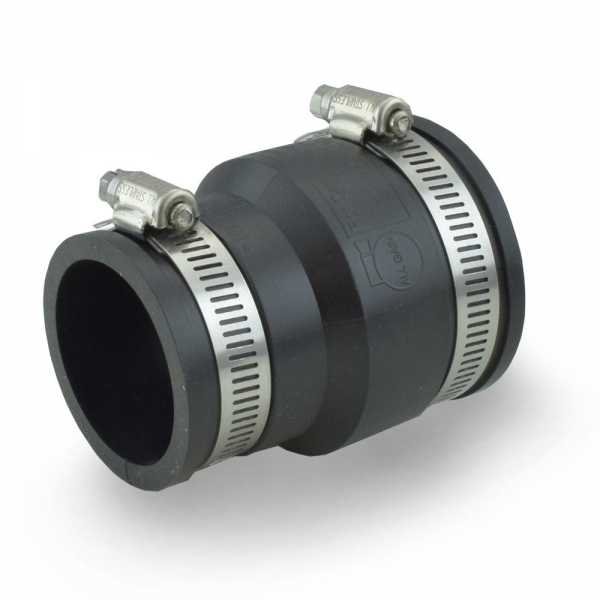 "2"" x 1-1/2"" Flexible Rubber Coupling"