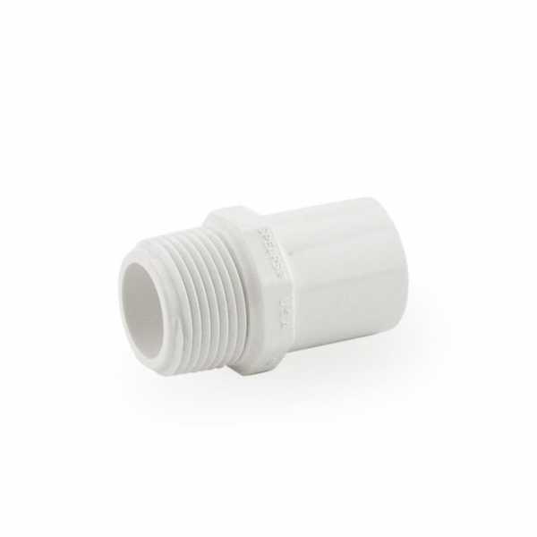 """3/4"""" PVC (Sch. 40) MIP x Spigot Adapter"""
