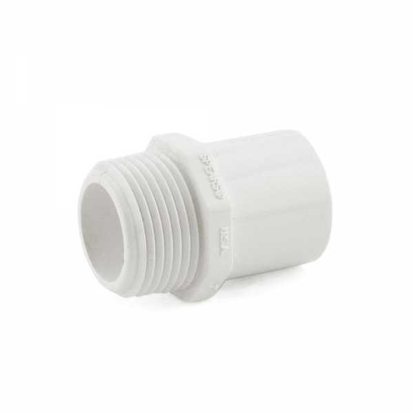 """1"""" PVC (Sch. 40) MIP x Spigot Adapter"""