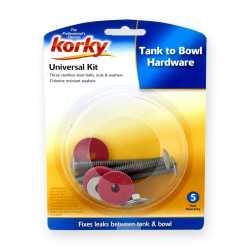 Korky Universal Tank-To-Bowl Bolts & Washers Kit