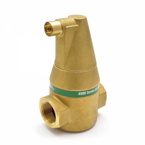 "Taco (49-125T-2) 4900 series Air Separator, 1-1/4"" Threaded"