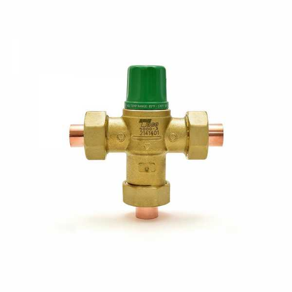 "1/2"" Union Sweat Mixing Valve (Lead-Free), 85-175F"