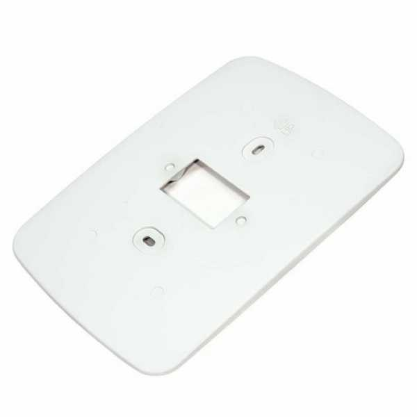 Honeywell 50028399-001 Arctic White Cover Plate for Prestige THX9000