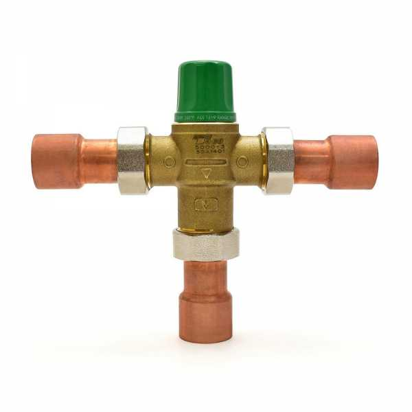 "1"" Union Sweat Mixing Valve (Lead-Free), 85-175F"