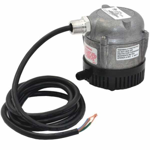 "Little Giant 501020 Submersible Only Parts Washer Manual Pump, 6"" Cord, 110v ~ 120v"