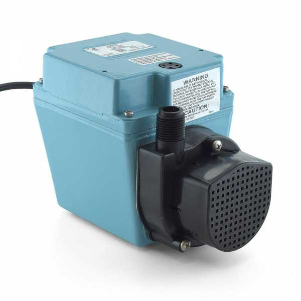 Manual Oil-Filled Submersible Pump, 1/12HP, 6' cord, 115V