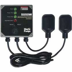Liberty Pumps 5050W Duplex Sump Pump Control