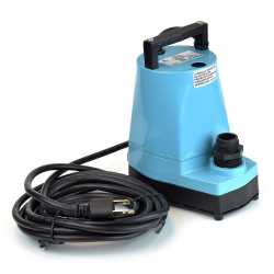 Manual Submersible Utility/Sump Pump w/ 18' cord, 1/6HP, 115V